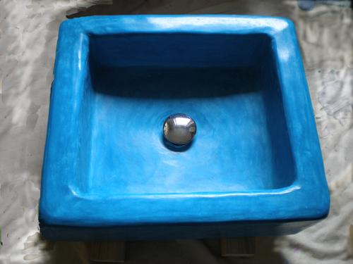 Esther Wiegand Farbe und Form ~ Waschbecken Ytong Befestigen